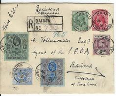 Sierra Leone Registered Stamped Envelope ++ Baiima 5.7.14 To Baiima - Sierra Leone (...-1960)