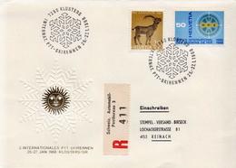 Postal History: Switzerland Registered Cover With Automobile Postbureau - Switzerland