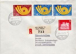 Postal History: Switzerland Registered Cover With Geneve Palais Wilson Cancel - Switzerland