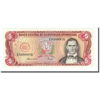 Billet, Dominican Republic, 5 Pesos Oro, 1988, KM:118c, NEUF - Dominicaine