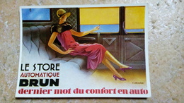 CPM. - LE STORE AUTOMATIQUE BRUN - éditions Du Centenaire - P. GROSJEAN Illustration ART DECO - Reclame