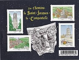 LES CHEMINS DE ST JACQUES DE COMPOSTELLE - Mint/Hinged