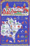 Denmark; Scouting;  Local Christmas Seals - Nykøbing F.  Full Sheet 1983.  MNH ** - Not Folded - Padvinderij