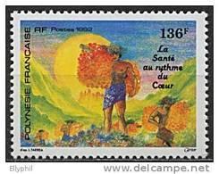 Polynésie, N° 408** Y Et T - Polinesia Francesa