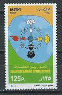 Egypt-Russia. Scott # 1803,6667 MNH. Dialogue Among Civilization. Joint Issue Of 2001 - Joint Issues