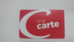 France-casino-ma Carte Casino-(0010270)-used Card+1card Prepiad Free - Cartes De Casino
