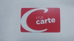 France-casino-ma Carte Casino-(0155291)-used Card+1card Prepiad Free - Cartes De Casino