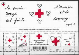 2015 FRANKREICH Mi:Bl 315 **MNH   Rotes Kreuz - Blocs & Feuillets