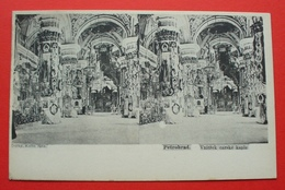 Saint Petersburg (Petrohrad) - 1902 - Russia --- Inside Of Tsar's Chapel , Stereo , Russie --- 22 - Russie