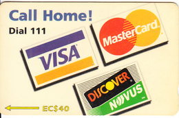 ST. VINCENT & THE GRENADINES(GPT) - Call Home Dial 111, CN : 221CSVA, Tirage 10000, Used - St. Vincent & The Grenadines