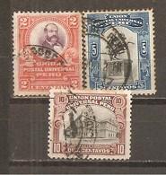 Perú  Nº Yvert  134, 136-37 (usado) (o) - Perú