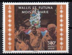 Wallis Et Futuna 2018 - Mois De Marie - 1 Val Neuf // Mnh - Wallis-Et-Futuna