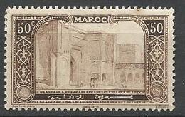 MAROC  N° 75 NEUF*  CHARNIERE / MH - Maroc (1891-1956)