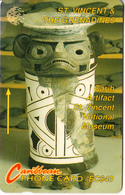 ST. VINCENT & THE GRENADINES(GPT) - Carib Artifacts, CN : 9CSVC, Tirage 4793, Used - San Vicente Y Las Granadinas