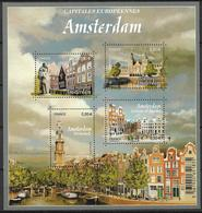 2016 FRANKREICH Mi:Bl 347 **MNH    Hauptstädte Europas - Amsterdam. - Blocs & Feuillets