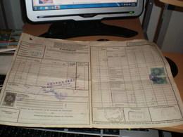 Frachtbrief Sdg DDSG Bl Comos MFTR  Regensburg  To Beograd Serbia 1938 - Germany