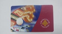 Casino-grosvenor Casino-(1141418)-used Card+1card Prepiad Free - Cartes De Casino