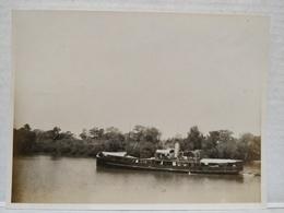 Fleuve Gambie. 1920. 11x8.5 Cm. Bateau Duncannon - Afrika
