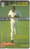 ST. VINCENT & THE GRENADINES(GPT) - Cameron Cuffy, CN : 199SVDA, Tirage 15000, Used - Saint-Vincent-et-les-Grenadines