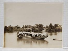 Fleuve Gambie. 1920. 11x8.5 Cm. Bateau Artimon - Afrika