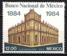 MESSICO - 1984 - BANCA NAZIONALE MESSICANA - CENTENARIO - MH - Messico