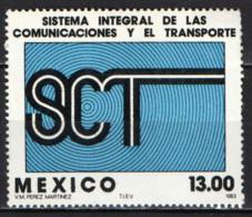 MESSICO - 1983 - SISTEMA INTEGRATO DI COMUNICAZIONE E TRASPORTI - MH - Messico