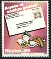 MESSICO - 1982 - INTRODUZIONE DEL CODICE DI AVVIAMENTO POSTALE - MH - Messico
