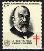 MESSICO - 1982 - DR. ROBERT KOCH - GIORNATA MONDIALE DELAL SALUTE - MH - Messico