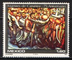 MESSICO - 1981 - NATALE: MARTIRI DI CANANEA - MNH - Messico