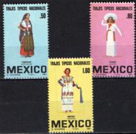 MESSICO - 1981 - FOLCLORE - COSTUMI TRADIZIONALI - MNH - Messico