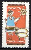 MESSICO - 1979 - NATALE: PASTORE CON LE PECORE - MNH - Messico