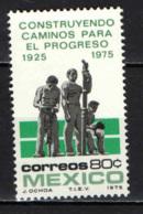 MESSICO - 1975 - SVILUPPO E PROGRESSO - MNH - Messico