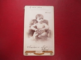CDV BEBE NU ALGER  PHOTO A.LANZARO - Cartes De Visite