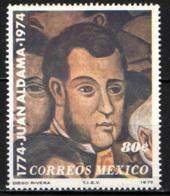 MESSICO - 1975 - JUAN ALDAMA - PATRIOTA MESSICANO - MNH - Messico