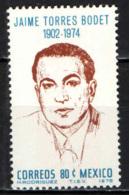 MESSICO - 1975 - JAIME TORRES BODET (1902-1974) - MNH - Messico