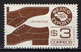 MESSICO - 1975 - ESPORTAZIONI MESSICANE: LE SCARPE - MNH - Messico