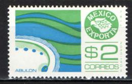 MESSICO - 1975 - ESPORTAZIONI MESSICANE: ABULON - FRUTTO DI MARE - MNH - Messico
