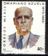 MESSICO - 1974 - MARIANO AZUELA - MNH - Messico
