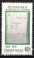 MESSICO - 1974 - 150° ANNIVERSARIO DELLA REPUBBLICA FEDERALE MESSICANA - MNH - Messico