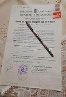2756) Marche Bollo Fiscali Ex Colonie Eritrea Revenue 1960 Consolare Asmara - Fiscali
