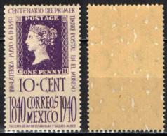 MESSICO - 1939 - CENTENARIO DEL PRIMO FRANCOBOLLO - MH - Messico