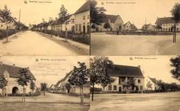 Winterslag - Lot Of 4 Postkaarten (animatie,... Te Zien) - Genk
