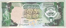 Kuwait 10 Dinars 1980-91 Pick 15d Ref 1 - Koweït