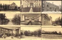 Estaimpuis - Lot 9 Cartes Pensionnat Saint-Jean-Baptiste De La Salle (peu Vue, Phototypie) - Estaimpuis