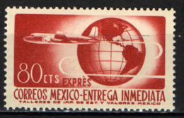 MESSICO - 1956 - AEREO E GLOBO TERRESTRE - MNH - Messico
