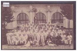 DISTRICT D'YVERDON - AMIS GYMNASTES D'YVERDON EN 1919 A LA FETE CANTONALE DE LUCENS ET ESTAVAYER - TB - VD Vaud