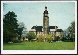 B5039 - Schloß Reinharz - Farbfoto Dr. Witholz Halle - VEB Volkskunstverlag Reichenbach - Castles