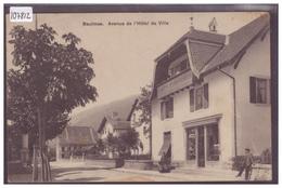 DISTRICT D'ORBE - BAULMES - AVENUE DE L'HOTEL DE VILLE - B ( LEGER PLI EN HAUT ) - VD Waadt