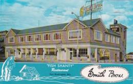 Smith Brothers Fish Shanty Restaurant Port Washington Wisconsin 1960 - Hotels & Restaurants