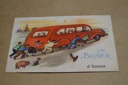 Esneux,1950,un Baiser D'Esneux,collection,RARE,collector,ancienne Carte Postale - Esneux